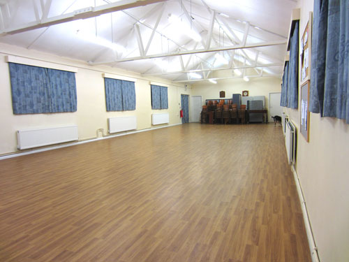 The hall used in our classes